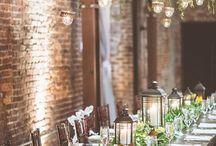 Urban Wedding / Ideas for DIY urban wedding decor.