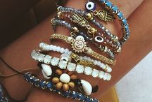 Stack city / Watches, bangles, bracelets and rings