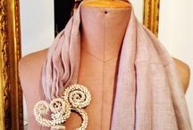 GIANMARCO RUSSO - stola gioiello / Stola gioiello in lino  by GIANMARCO RUSSO