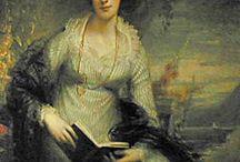 19th century: Regency stripes / Striped Regency gowns etc.