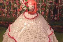 Plantation Belle Barbie crochet