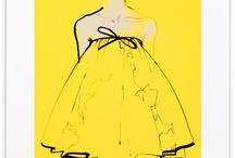 Colorful Summer Fashion Illustrations