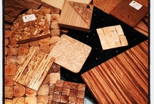 Eco Materials / This is a collection of all eco materials I find that are suitable for making contemporary bespoke fitted furniture.