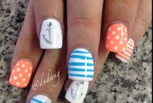 cool nail art/make up