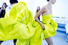 Runway moments / A good model can advance fashion by ten years. Yves Saint Laurent
