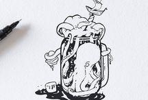ink stuff illustration