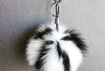 intagram Fur jackets vests pompoms furballs leather bags accessories