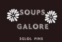Soups Galore / #soups, #stews, comfort food