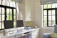 Craft Room/ Office Space / organized, no clutter, a place to let creativity rule