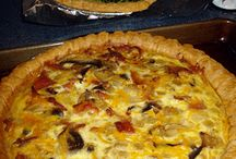 quiche, pies and tarts