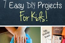 Kid Friendly DIY / Activities you can do with your kids!