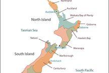 New Zealand - wine regions