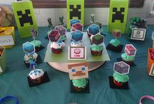 Minecraft Boys Party / Party decorations for a Minecraft Boys Party / by Ellen Harmelink