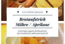 vegane Brotaufstriche / Sammlung zu veganen Rezepten aufs Brot
