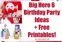 Leo's 3rd birthday - big hero 6