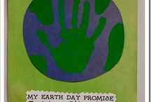 Groundhog Day/Earth Day Art / by Sarah Kirkland