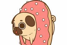 Pug draws,Puglie