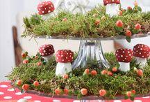 Herbst- Pilze aus KorkKreativ