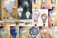 шары из лампочек
