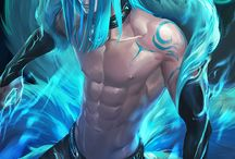 manga haire blue
