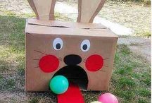 Easter egg outdoor games