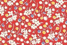 Fabrics - Repro 1930s Prints / 1930s Cotton Prints