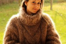 Heavy Weight Sweaters Mohair & Wool