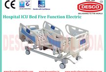 Electric Bed Manufacturers India / We are offering Electric ICU Bed that is adjustable and can be done high and low as per the convenience of the patient. They are manufactured in line with the international standards. For product inquiry visit our website.