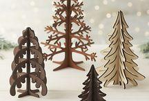 Corte Láser Navidad
