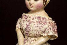Early cloth dolls / early American dolls