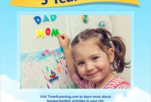 Homeschooling by Age / Tips and resources for homeschooling each age, from 5 to 18.