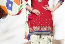 Punjabi Patiala Dresses / Buy from latest collection of punjabi suits and patiala salwar kameez. online from Heenastyle.com. we have a wide range of styles in this collection. http://www.heenastyle.com/salwar/punjabi-suits