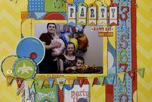 Birthday & Party scrapbooking / by Patricia Ferguson