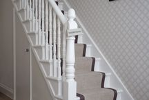 Staircase Design / Inspiration to improve your upstairs downstairs commute and ideas for storage...