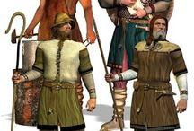 Keltika - Keltové inspirace / Kostýmová inspirace pro hru Keltika