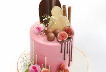 Tartas drip cake