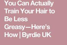Hair oily