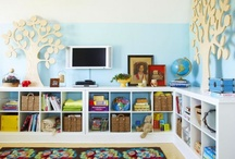 Kids Rooms & Playroom Ideas / Ideas for furniture, storage, decorations, style and design for these rooms of our home.