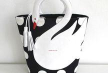 kuğulu çanta