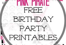 girls pirate party ideas