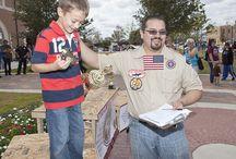 Navasota Kickstart Kids at the 2012 Veteran's Day / Kickstart Kids attend the 2012 Veteran's Day in Navasota, TX.
