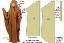 dress pattern abayas