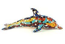 Barcino Designs - Trencadis Mosaik Skulpturen / Skulpturen und Deko-Figuren von Barcino Design aus Barcelona im klassischen Trencadis-Mosaik-Design