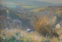 David Curtis paintings / An artist I greatly admire
