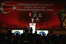 Çanakkale Ruhu ve Gençlik Türkiye Liseler Arası Kompozisyon Yarışması Ödül Töreni