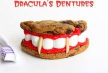 Dracula's dentures / Halloween recipes