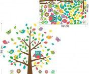 Αυτοκόλλητα Τοίχου / Αυτοκολλητα τοίχου για παιδικό δωμάτιο