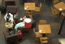 Antalya Havalimanı Dış Hatlar Terminali Yiyecek&İçecek Alanı - Antalya / Sandalyeci