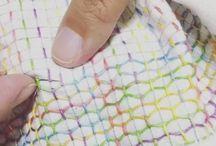 Japanese hand stitching