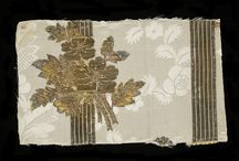 Textile Sample Book Silk Lyon France 1763-1764
